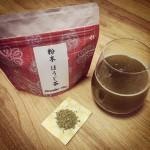 粉末茶 ほうじ茶
