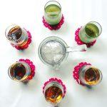 おしゃれなガラス急須!!各お茶のセットがオススメです。