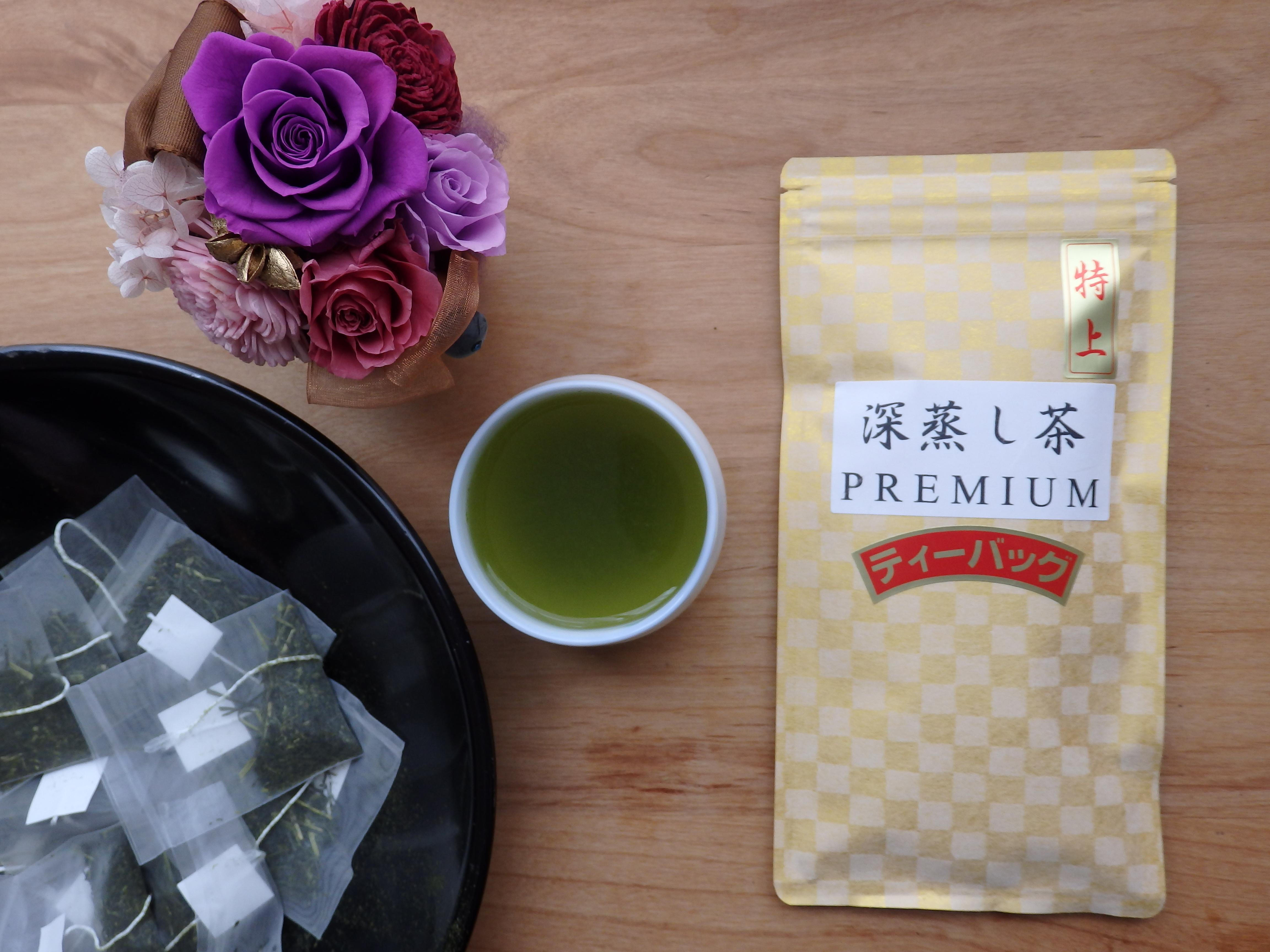 深蒸し茶PREMIUM ティーバッグ