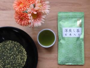 抹茶入り 深蒸し玄米茶