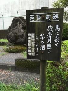 静岡茶と松尾芭蕉