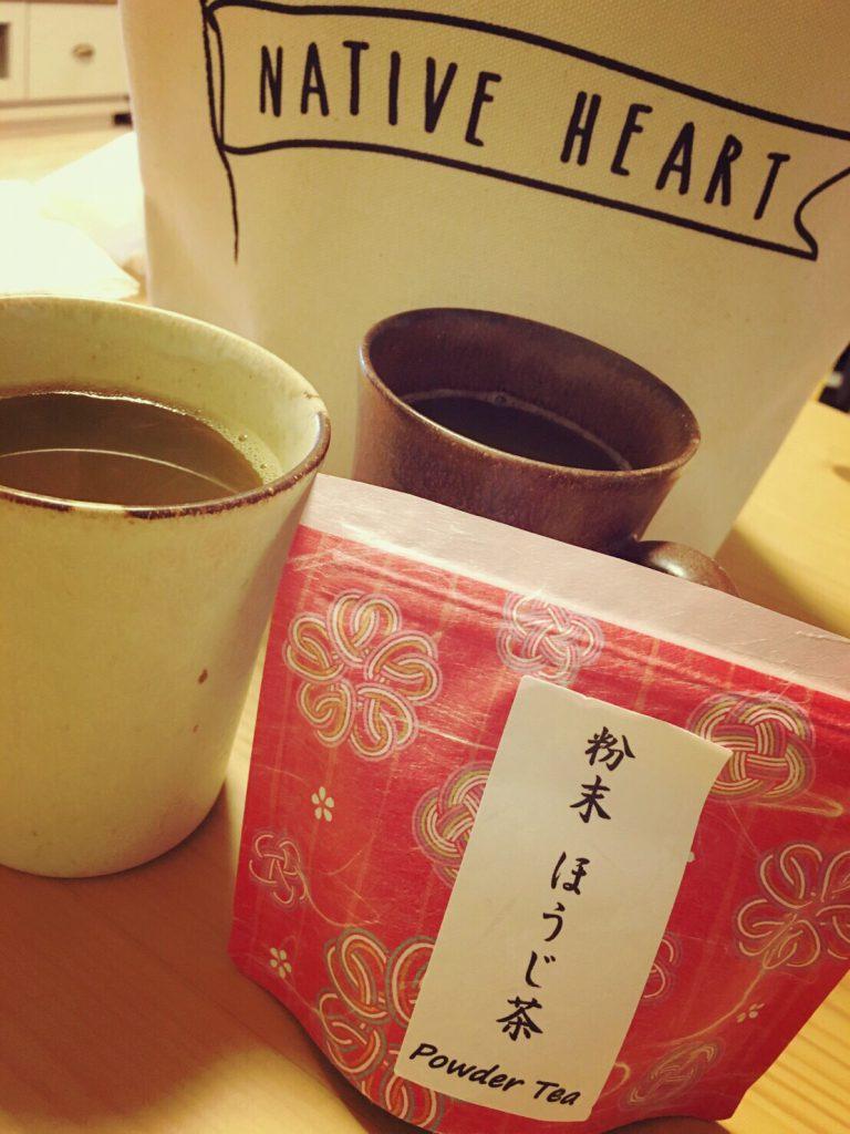 粉末 ほうじ茶