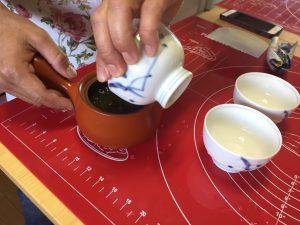 お茶の淹れ方2